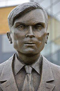 Turing-Statue